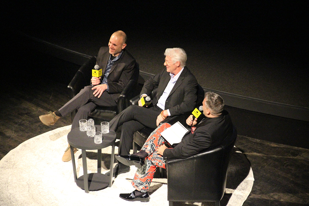 Director Joseph Cedar, Actor Richard Gere, and Festival Director Jaie Laplante